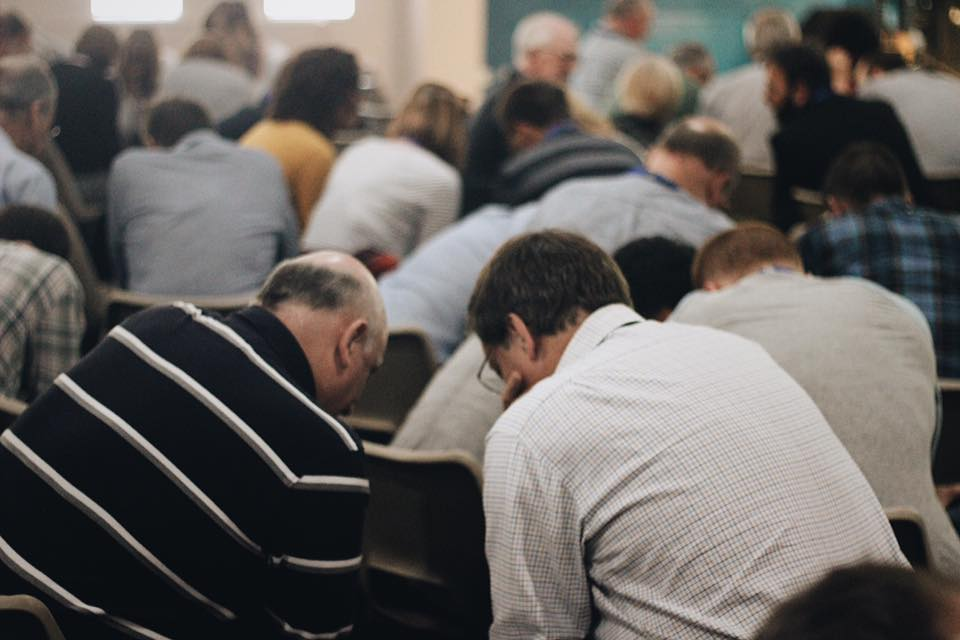 Prayer at EQUIP 2017