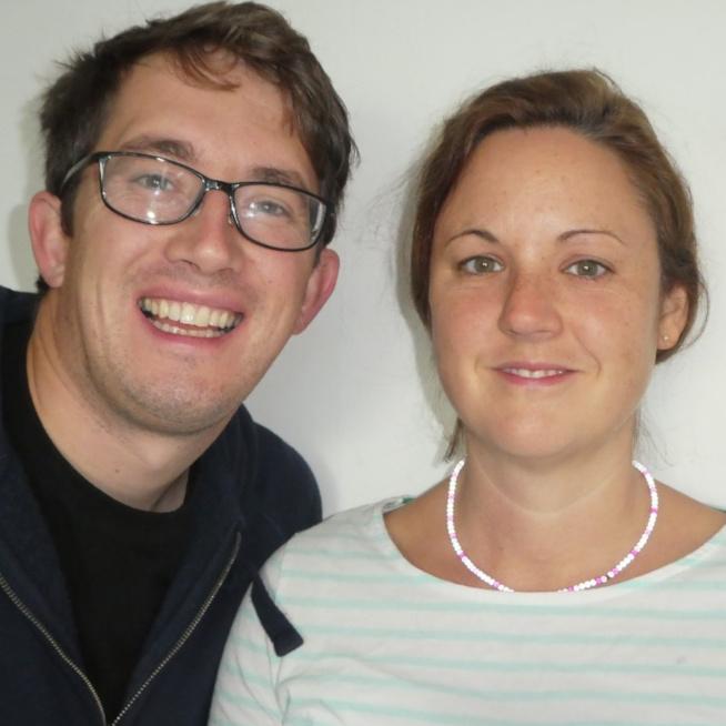 Naomi and Jon Dawson
